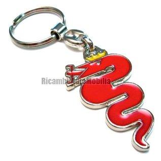 Alfa Romeo Key holder Biscione Rosso