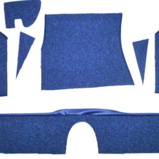 BMW E9 2500 2800 3.0 CS CSi Carpet set interior loop dark blue
