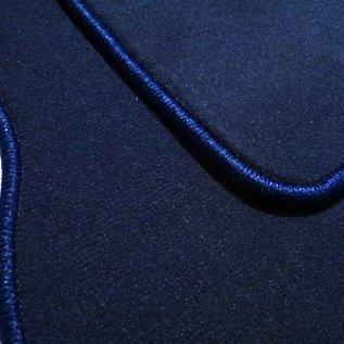 BMW E9 2500 2800 3.0 CS CSi Trunk carpet mat velours dark blue