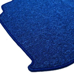 BMW E9 2500 2800 3.0 CS CSi Trunk carpet mat loop dark blue