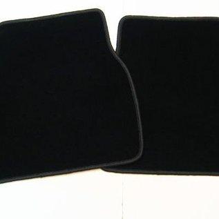 Lancia Thema 8.32 Floor mat set velours black-dark grey Cavallino