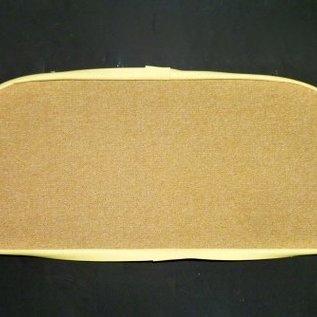 Opel GT Carpet set interior loop cream/tan + semi-leather trimming