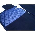 Carpet set interior + trunk velours dark blue BMW E3 2500 2800 3.0S Si