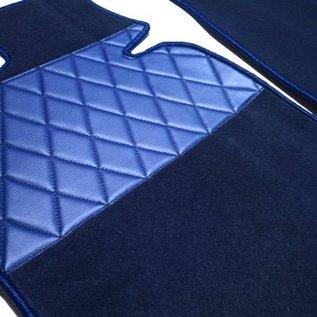 BMW E3 E3 3.0Li + 3.3L + 3.3Li Carpet set interior + trunk velours dark blue