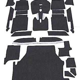 BMW E3 3.0Li + 3.3L + 3.3Li Carpet set interior + trunk velours black
