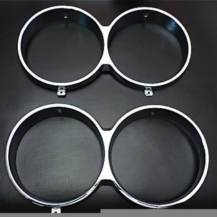 Fiat 124 Special 1968-1970 Headlight bezel set
