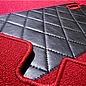 Mercedes-Benz W121 190 SL Carpet set interior loop dark red