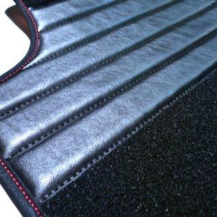 Fiat Barchetta 1995-2002 Tapis de sol premium velours noir - sigle rouge