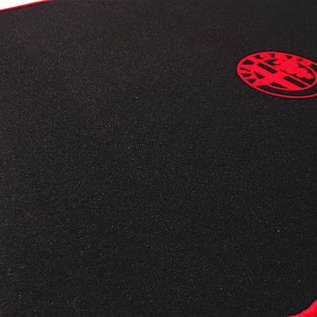 Alfa Romeo 156 Berlina 1997-2005 Trunk mat velours black - red logo + trim
