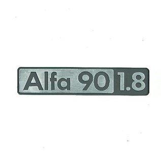 Alfa Romeo 90 1.8 Script rear