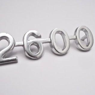 Alfa Romeo 2600 Berlina Sigle arrière 2600