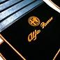 Alfa Romeo Giulietta 2010-2015 Floor mat set premium velours black - gold logo script + trim