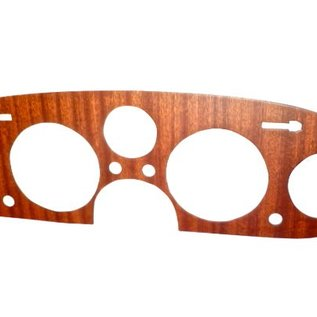 Fiat 2300 S Coupe Gauge cluster trim panel mahogany wood