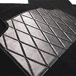 Fiat X 1/9 1300 + 1500 Carpet set interior velours black