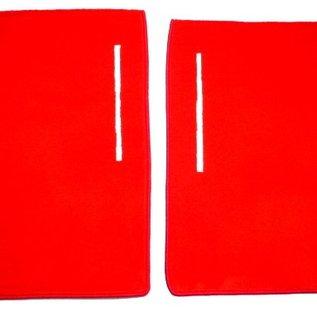 Fiat X 1/9 1300 + 1500 Carpet set interior velours red