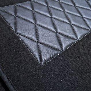 Mercedes-Benz W186 300 b c 1951-1957 Carpet set interior velours dark grey + nubuck trimming