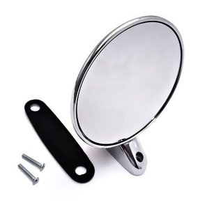 Mirror round chrome