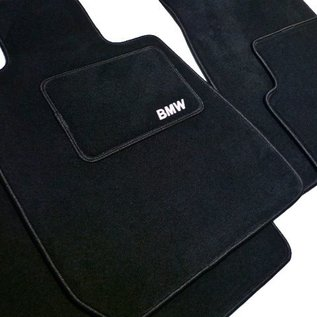 BMW E24 6-series 1976-1989 Floor mat set velours black