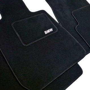 BMW E3 3.0Li + 3.3L + 3.3Li Floor mat set velours black