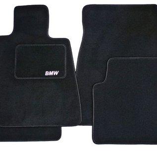 BMW E30 3-series Sedan 1982-1991 Floor mat set velours black