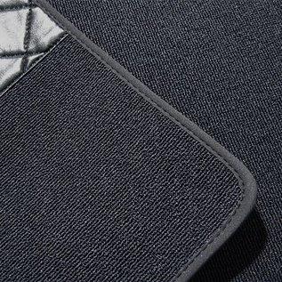 BMW E21 Sedan 3-series 1975-1982 Floor mat set premium loop dark grey
