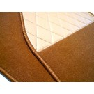 Floor mat set premium velours cognac BMW Z1