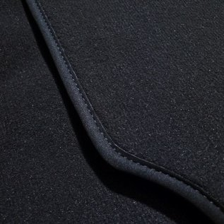 BMW Z1 Floor mat set premium velours dark grey + nubuck trimming