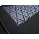 Tapis de sol premium velours gris foncé + contours en nubuck BMW Z1