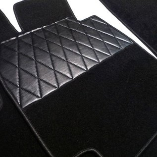 BMW E28 5-series 1981-1988 Floor mat set premium velours black