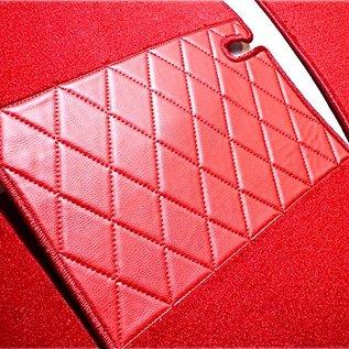 Mercedes W111 + W112 Coupe 1961-1971 Tapis de sol premium velours rouge