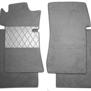 Mercedes W111 + W112 Coupe 1961-1971 Floor mat set premium loop black