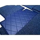 Floor mat set premium loop dark blue Mercedes W111 + W112 Coupe 1961-1971