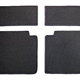 Mercedes W114 W115 Sedan 1968-1976 Carpet set interior loop black