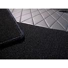 Carpet set interior loop black Mercedes W114 W115 Sedan 1968-1976