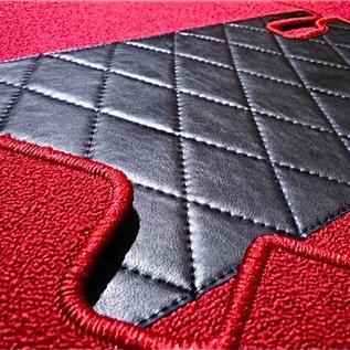 Mercedes W114 W115 Sedan 1968-1976 Carpet set interior loop red