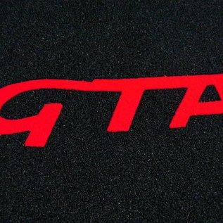 Alfa Romeo 147 Tapis de sol noir-rouge sigle GTA