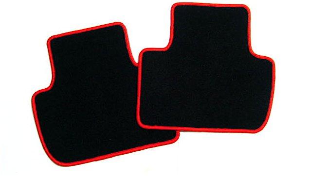 alfa romeo 147 tapis de sol noir rouge sigle gta automobilia nl. Black Bedroom Furniture Sets. Home Design Ideas