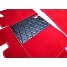 Floor mat set premium velours red Mercedes W111 220 S SE 230 S Fintail 1959-1968