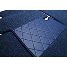 Floor mat set premium loop dark blue Mercedes W111 220 S SE 230 S Fintail 1959-1968