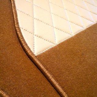 BMW E10 1502 1602 1802 2002 Carpet set interior velours cognac
