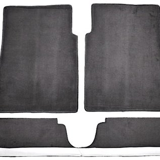 BMW E10 1502 1602 1802 2002 Carpet set interior velours grey + Nubuck trimming