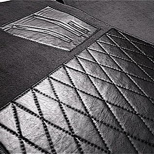 BMW E10 1502 1602 1802 2002 Carpet set interior velours dark grey