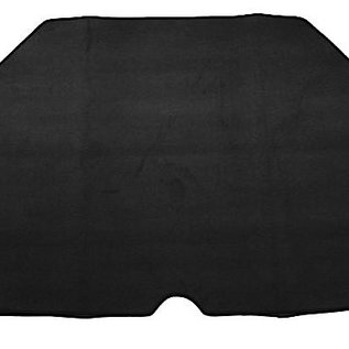 BMW E10 1502 1602 1802 2002 Carpet set trunk velours grey + Nubuck trimming