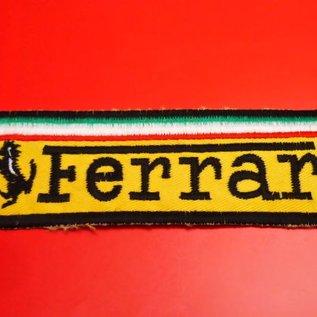Ferrari Patch 40 x 125 mms.