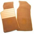 Tapis de sol premium veloursbeige foncé - logo + contours orAlfa Romeo ES30 RZ