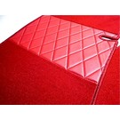 Carpet set interior velours red Lancia Fulvia Coupe S2