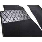 Carpet set interior velours black Mercedes-Benz W123 Sedan