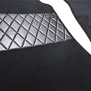 Mercedes-Benz W123 Sedan Carpet set interior velours black