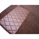 Carpet set interior loop dark brown Mercedes-Benz W123 Sedan