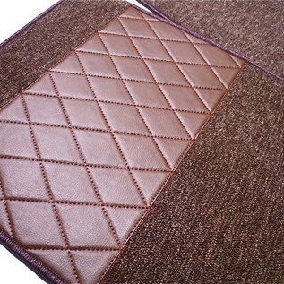 Mercedes-Benz W123 Sedan Carpet set interior loop dark brown